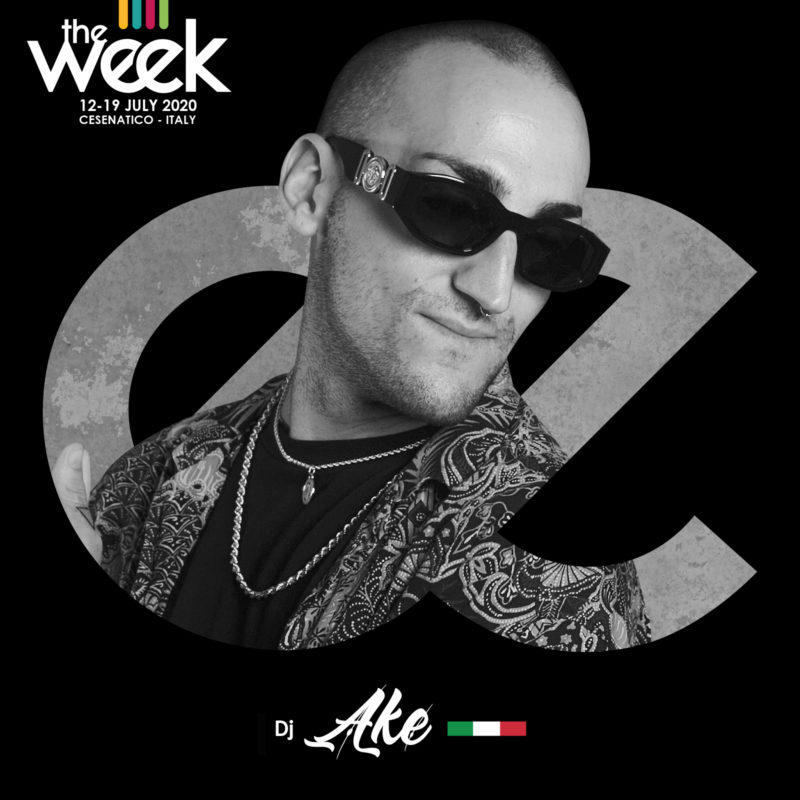 Dj Ake Give It Up Hip Hop Poppin Street Fighters The Week The WeeKidz Street Dance Summer Camp Cesenatico Italy Workshop Stage Hip Hop Festival