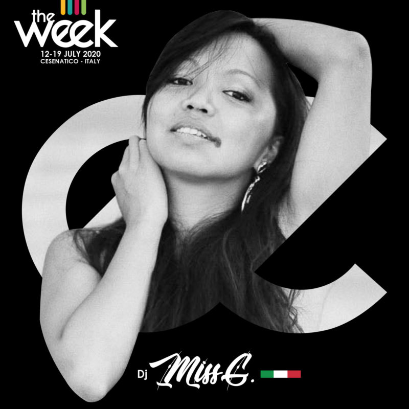 Dj Miss G. Waackengers Grace All Kind Of Hustle The Week The WeeKidz Street Dance Summer Camp Cesenatico Italy Workshop Stage Hip Hop Festival