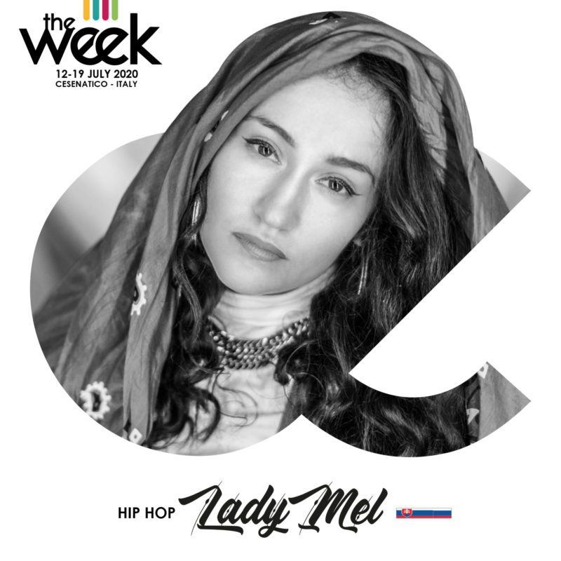 Lady Mel Give It Up Kidz The Week The WeeKidz Street Dance Summer Camp Cesenatico Italy Workshop Stage Hip Hop Festival