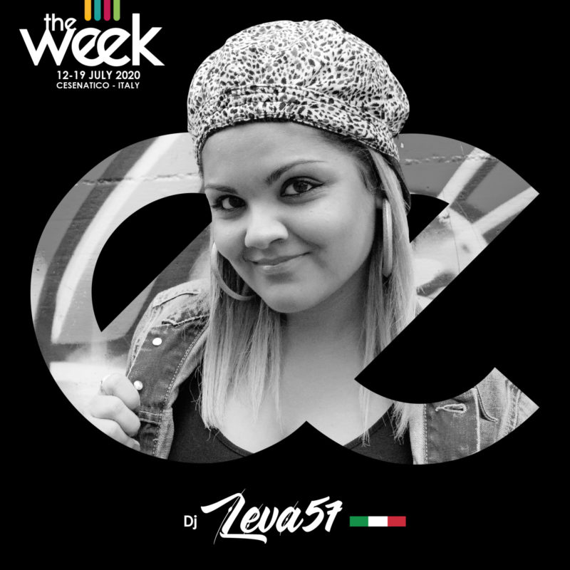 Dj Leva57 Flowoman BGirl The Week The WeeKidz Street Dance Summer Camp Cesenatico Italy Workshop Stage Hip Hop Festival