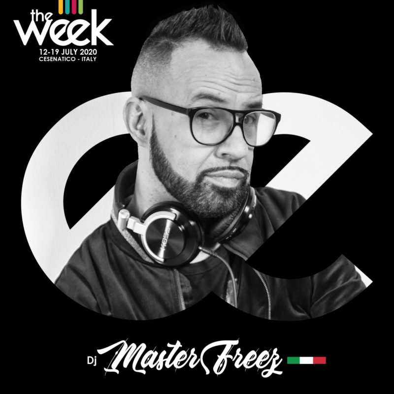 Dj Master Freez The Week The WeeKidz Street Dance Summer Camp Cesenatico Italy Workshop Stage Hip Hop Festival
