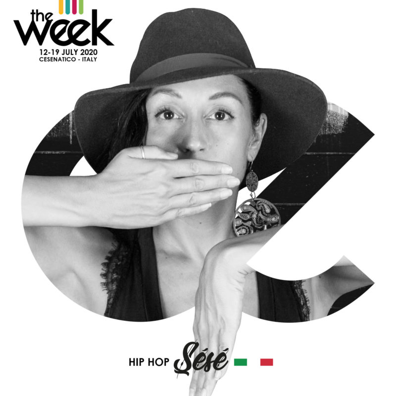 Sésé Serena Ballarin Flowoman Give It Up Kidz Break the Funk The Week The WeeKidz Street Dance Summer Camp Cesenatico Italy Workshop Stage Hip Hop Festival