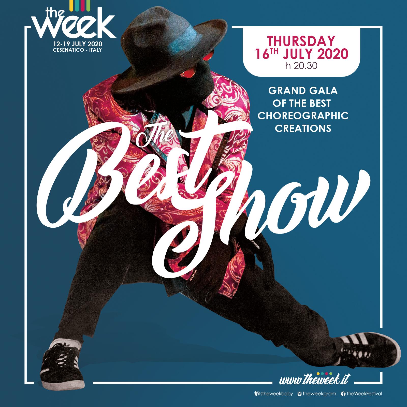 Best Show The Week The WeeKidz Street Dance Summer Camp Cesenatico Italy Workshop Stage Hip Hop Festival
